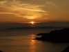 笹川流れの夕陽