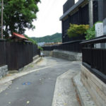 黒塀通り~村上市