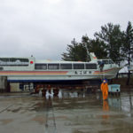 おばこ丸の回航~岩船港~桑川港