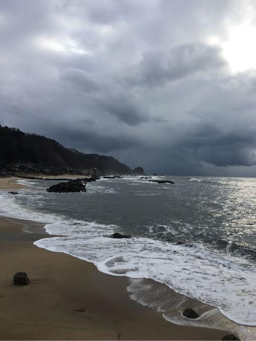平成29年1月31日の笹川流れの海